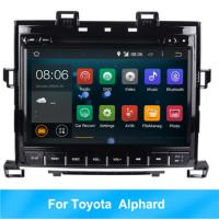 Wholesale RK Android 8.1 HD car multimedia player car radio For Toyota Alphard GPS BT 2G RAM from china suppliers