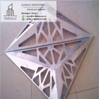 Wholesale SUDALU 3D Aluminum Solid Wall panel Perforated Facade Cladding for Building from china suppliers