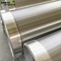 China Reinforced LCG V Wire Screen , Rod Based Water / Oil Well Sand Screen for sale
