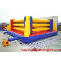 Wholesale Exciting Inflatable Sport Games Bouncy Boxing Ring For Teenagers Games from china suppliers