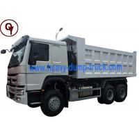 Wholesale 371HP Load Capacity Lorry Dump Truck Sinotruk HOWO 6x4 10 Wheeler Type Steel Material from china suppliers