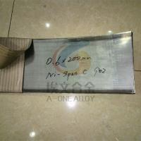 Wholesale Ni-span-C constant elastic alloy strip,Ni-span-C 902 wire,in stock from china suppliers