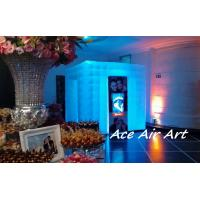 Wholesale custom wedding inflatable photo booth with led,wedding photo enclosure for sale from china suppliers