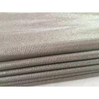 China 100%silver fiber knit anti electromagnetic radiation fabric for maternity dress for sale