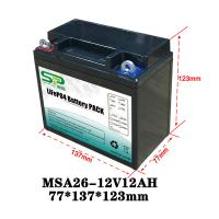 Wholesale Long Lasting 12 Volt Lithium Battery Pack , 12v Battery Pack For Led Lights from china suppliers
