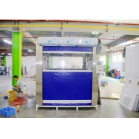 Buy cheap Fast Rolling Door/ PVC Curtain Door Cargo Air Shower/ Air Shower Tunnel from wholesalers