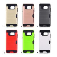 Wholesale Hard Plastic Tpu Hybrid Samsung Cell Phone Cases / Credit Card Holder For Phone from china suppliers