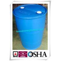 Wholesale 200L HDPE Chemical Plastic Drum Storage Cabinets , HDPE Plastic Drums Barrels For Chemical Packing from china suppliers