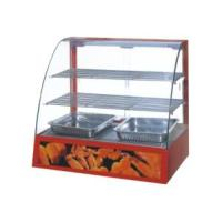 Wholesale Curved Glass Warming Showcase from china suppliers
