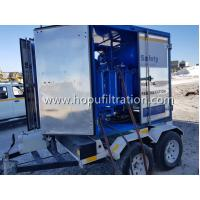 Easily-Movable Trailer Transformer Oil Purifier,outdoor mobile insulating oil purification plant with shelter,dewatering for sale