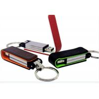 Wholesale USB Flash Drive Disk 8GB PU Leather Key Chain Memory Drives Stick from china suppliers
