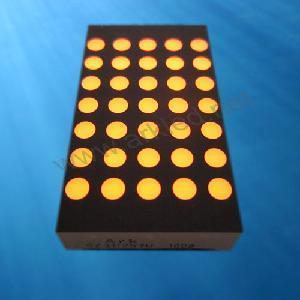 China 1.2 Inch 5x7 DOT Matrix Display With up-Down Gap (SZ*11257) on sale