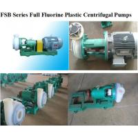 China Full Fluorine Plastic Alloy Centrifugal Pump for sale
