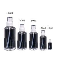 Wholesale 10ml,30ml,50ml,60ml,100ml PE empty bottle with pump sprayer, Wholesale plastic PE bottle empty bottle used for Cosmetics from china suppliers