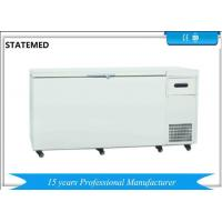 Chest Type Horizontal Laboratory Deep Freezer Ultra Low Temperature 480L With Sound Alarm Function for sale