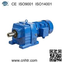 Best Foot mounted similar to SEW R series inline helical gear motor speed reducer wholesale