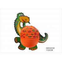 Quality Portable Dinosaur Animal Shaped Paper Lanterns For Kids Toy Decoration for sale