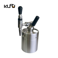 Wholesale Small 2L / 3.6L / 4L Durable CO2 Regulator Beer Keg Set from china suppliers
