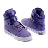Quality Cheap Supra TK Society Women High Top Shoes Purple for sale