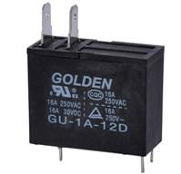 16A / 250V DC PCB Power Relay , High Voltage Home Appliance Relay