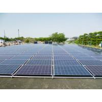 China Framed PV Module Ballasted Solar Mounting Systems No Roof Penetration for sale