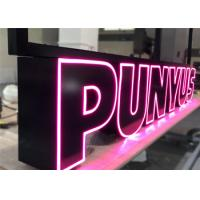 China Custom Led Channel Letters , Front Lit Illuminated Signage Letters For Business Store on sale