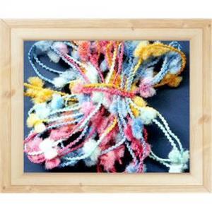 China Fancy yarn crochet knitting machine on sale