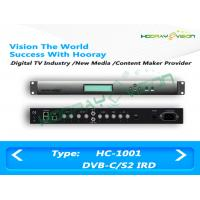 Wholesale Digital TV Satellite Receiver DVB-C DVB-S/S2 ASI RF IP Input SPTS or MPTS ASI Output from china suppliers
