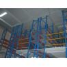 Buy cheap Industrial Multi Tier Mezzanine Rack / Metal Storage Shelves ISO9001 from wholesalers
