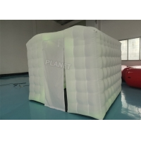 Buy cheap Outdoor Do Yoga Exercise Oxford Inflatable Yoga Tent With Led Light from wholesalers