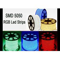 Wholesale RGB 120 Volt Led Strip Lights, RoHS High Voltage Color Changing Led Strip from china suppliers