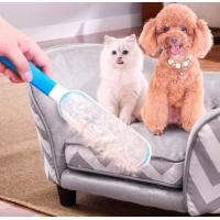 China Pet Brush Fur & Lint Remover colour box deshedding grooming tool Double-sided Pet Hair Remover Brush for sale