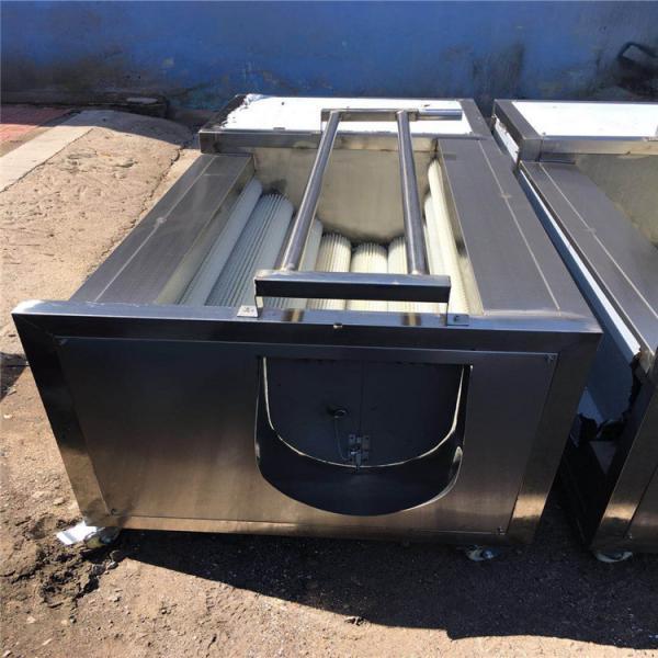 Quality 1.5kw Fruit Washing Equipment , Electric Control Tomato Washing Machine for sale