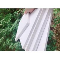 Wholesale Lightweight Rigid PVC Foam Board 0.35g / Cm3 Density For Road Yard Signs from china suppliers