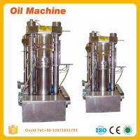 Wholesale Almond nuts hydraulic oil press machine edible oil making equipment from china suppliers