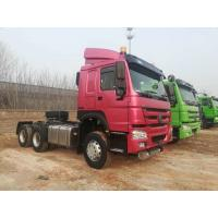 China 6x4 10 Wheeler Tractor Trailer Truck With  German ZF Steering 400L Oil Tank on sale
