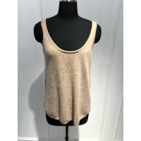 China Women Crew Neck Cashmere Sweater Vest Spring / summer Soft Handfeel 12gg Guage size on sale