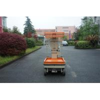 Wholesale Vertical Mast Type One Man lift Electric Aerial Work Platform Order Picker For Warehouse from china suppliers