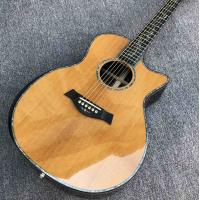 Wholesale 41 inch Solid Spruce top PS14 acoustic guitar,Cocobolo Back and sides,Real abalone Ebony fingerboard TY acoustic Guitar from china suppliers