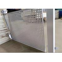 Wholesale PVC Coated Round Steel Punching Hole Mesh Used For Fence /Perforated Metal Screen from china suppliers
