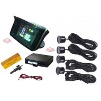 Wholesale Waterproof Wireless VFD Display Vision Parking Sensors With 4 Sensors from china suppliers