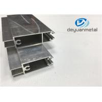 Wholesale Gb 5237-2008 Mill Finished Aluminum Door Profile 6000 Series Nature Color from china suppliers
