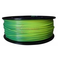 Wholesale Toughness 3mm ABS color changing filament for 3D printer , blue green to yellow green from china suppliers
