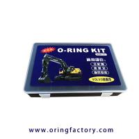 Wholesale Volvo o-ring kits rubber o ring kit for volvo excavators NBR FKM o-ring box from china suppliers