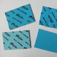 Best blue Heatsink Cooling Thermally Gap Filler 2.0W/mK Ultrasoft Low Thermal Resistance silicone rubber pad 45 shore00 wholesale