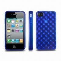 Wholesale TPU Case for Apple's iPhone 4, Available in Various Colors, Protects Against Dust from china suppliers