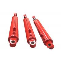 Wholesale trash truck use chrome plated double acting hydraulic piston cylinder from china suppliers