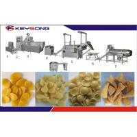 Wholesale 100kg/H Fried Crispy Bugles Snack Food Extruder Machine , Extrusion Snacks Food Machinery from china suppliers
