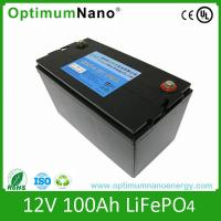 Wholesale AGM/SLA battery replacement Screw connected 12v 100ah lithium ion battery from china suppliers