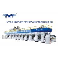 Computer Gravure Press Gravure Printing Machine 8 Colors Working Speed Faster Than 300 m/min